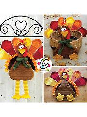 Tom Turkey Decor Crochet Pattern