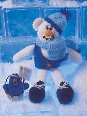 Snowbeary Crochet Pattern