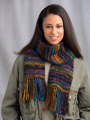 Strata Scarf Crochet Pattern