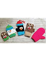 Sampler Mitts to Mittens Crochet Pattern