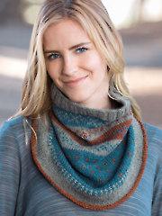 ANNIE'S SIGNATURE DESIGNS: Norwegian Knit Cowl Pattern