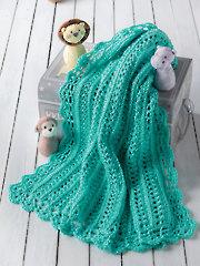 Swinging on a Star Baby Blanket Crochet Pattern