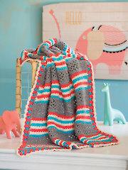 Star Stitch Baby Afghan Crochet Pattern