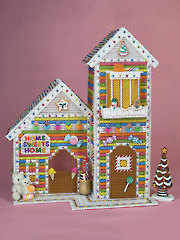 Home Sweets Home Plastic Canvas Pattern