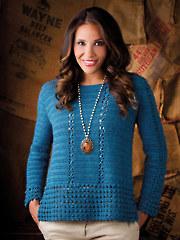 A Bit Of Lace Tunic Crochet Pattern