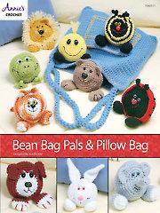Bean Bag Pals & Pillow Bag Crochet Pattern