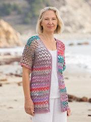 ANNIE'S SIGNATURE DESIGNS: Ibiza Cardi Crochet Pattern