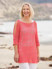 ANNIE'S SIGNATURE DESIGNS: Stella Rose Tee Crochet Pattern