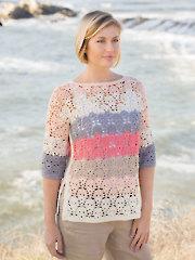 ANNIE'S SIGNATURE DESIGNS: Gemstone Tee Crochet Pattern