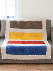 ANNIE'S SIGNATURE DESIGNS: Color Block Afghan Crochet Pattern