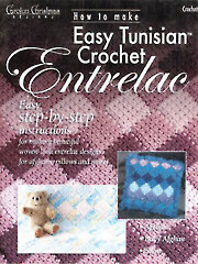 How to Make Easy Tunisian Crochet Entrelac