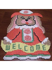 A Rosy Welcome Plastic Canvas Pattern