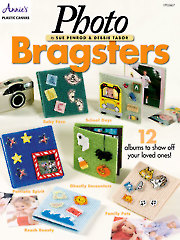 Photo Bragsters Plastic Canvas Pattern
