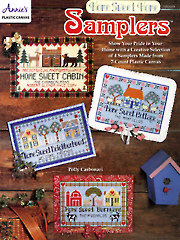 Home Sweet Home Samplers Plastic Canvas Pattern