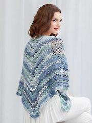 Open Water Shawl Crochet Pattern