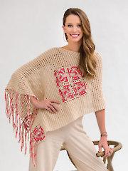 A Little Bit of Splurge Poncho Crochet Pattern