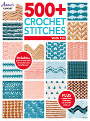 500+ Crochet Stitches Crochet Pattern Book