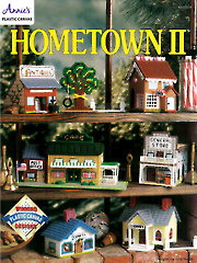 Hometown II Plastic Canvas Pattern