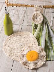 4-Hour Kitchen Set Crochet Pattern