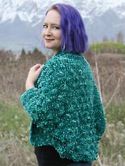 Belinda Bobble Cardigan Crochet Pattern