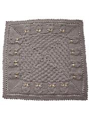 Basket Of Owls Baby Blanket Crochet Pattern