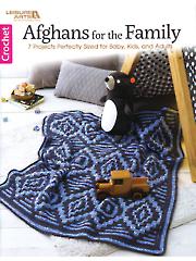 Afghans for the Family Crochet Pattern