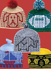Baby Boy Hats Crochet Pattern