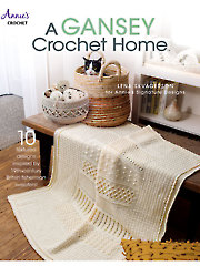 A Gansey Crochet Home Pattern Book