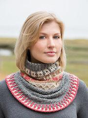 ANNIE'S SIGNATURE DESIGNS: Fair Isle Gansey Crochet Cowl Pattern