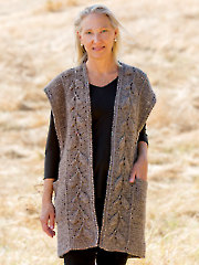 ANNIE'S SIGNATURE DESIGNS: Everly Embossed Vest Crochet Pattern