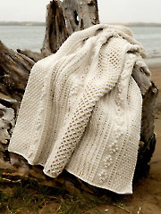 ANNIE'S SIGNATURE DESIGNS: Cornwall Gansey Afghan Crochet Pattern