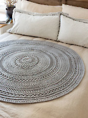 ANNIE'S SIGNATURE DESIGNS: Celtic Gansey Afghan Crochet Pattern