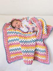 ANNIE'S SIGNATURE DESIGNS: Millie's First Blanket & Toy Crochet Pattern