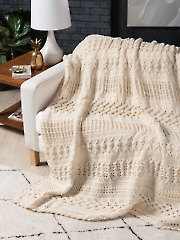 Cable Play Afghan Crochet Pattern
