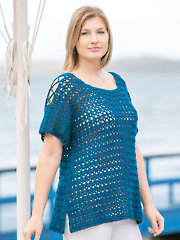 ANNIE'S SIGNATURE DESIGNS: Marine Layer Tunic Crochet Pattern