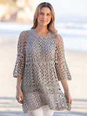 ANNIE'S SIGNATURE DESIGNS: Paradiso Tunic Crochet Pattern
