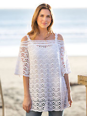 ANNIE'S SIGNATURE DESIGNS: Sky's the Limit Top Crochet Pattern