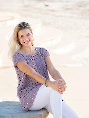 ANNIE'S SIGNATURE DESIGNS: Under the Sun Tee Crochet Pattern