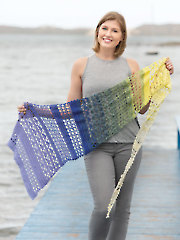ANNIE'S SIGNATURE DESIGNS: Escape Lace Shawl Crochet Pattern