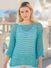 ANNIE'S SIGNATURE DESIGNS: Beach Walk Tunic Crochet Pattern