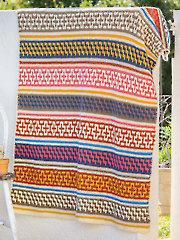 ANNIE'S SIGNATURE DESIGNS: Morocco Mosaic Afghan Crochet Pattern