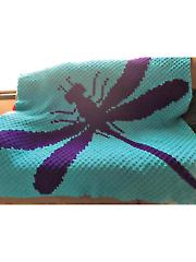 Dragonfly Afghan Crochet Pattern