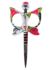 Embroidery Cat Scissors 1/Pkg.