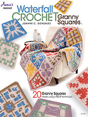 Waterfall Crochet Granny Squares Book and Yarn Kit