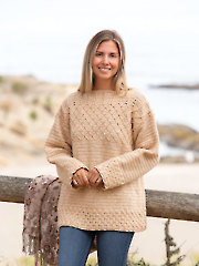 ANNIE'S SIGNATURE DESIGNS: Elysian Crochet Pullover Pattern