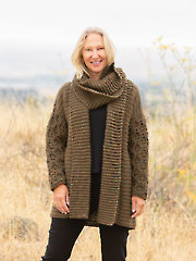 ANNIE'S SIGNATURE DESIGNS: Capitola Crochet Cardi and Cowl Pattern