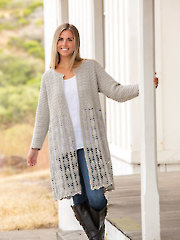 ANNIE'S SIGNATURE DESIGNS: Windcatcher Crochet Cardi Pattern