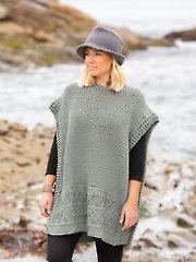 ANNIE'S SIGNATURE DESIGNS: Vivid Crochet Poncho & Fedora Hat Pattern