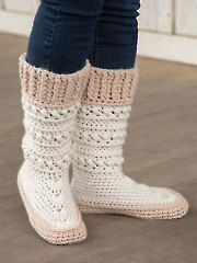 ANNIE'S SIGNATURE DESIGNS: Clio Crochet Mukluks Pattern