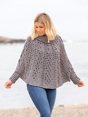 ANNIE'S SIGNATURE DESIGNS: Moonglade Crochet Poncho Pattern